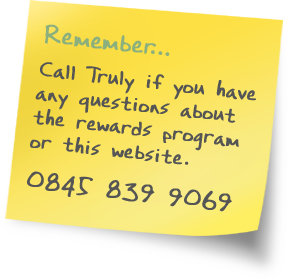 Call Truly on 0161 339 4982 to discuss the Referral Rewards Program